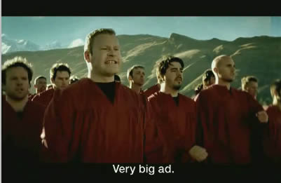 very big ad